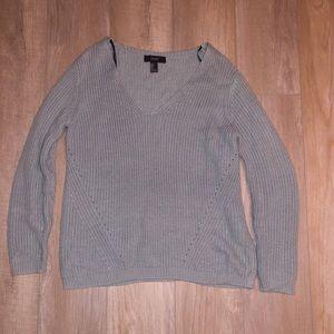 Forever 21 knit sea-foam blue sweater